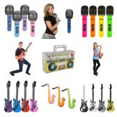 Inflatable Musical Instruments Assortment